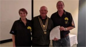 David and Dianne Waterhouse Presentation - Rotary Club of The Entrance